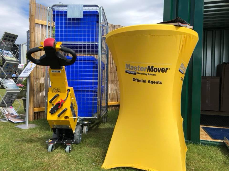 MasterMover Ltd display at the Royal Highland Show 2018!