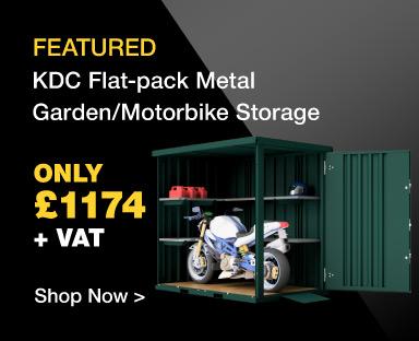 KDC Metal Garden Motorbike Store