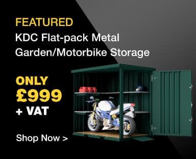 KDC Metal Motorbike Storage