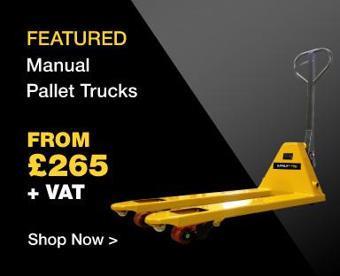 Manual Pallet Trucks from £265 ex VAT
