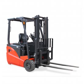 3-Wheel Warehouse Electric Forklift Truck