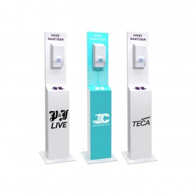 Company Branded Dispensing Stations